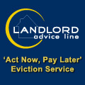 Landlord Advice Line - Act now, pay later eviction service